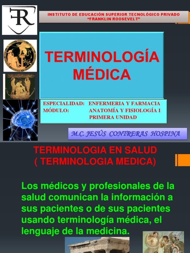 Clase 1 Terminología Médica