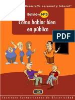 Como Hablar Bien en Publico Inst Costaricense de Elect