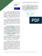 Pensum Maestría en formacion y evaluacion de proyectos