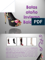 Botas Otoño Invierno Baldinini