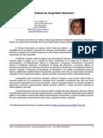CV Cultural Jorge Mario Musumeci