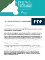 1er Festival Internacional de Violoncello de Uruguay - MEC