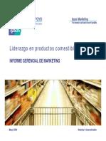 Liderazgo en Productos Comestibles IPSOS 2009