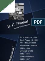 presentation skinner