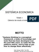 Introducere in Sistemica Economica