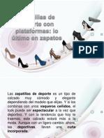 Zapatillas de Deporte Con Plataformas
