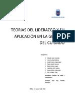 Teorias Del Liderazgo y Su Aplicación en La Gestion Del Cuidado Ultimoooo