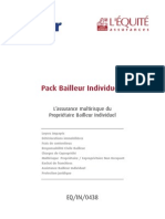 CG Pack Bailleur Individuel EQIN0438