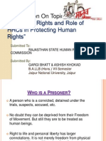 9.Prisoner's Rights and Role of HRC's in Protecting HRs (by-Gargi Bhatt & Ashish Khokad)