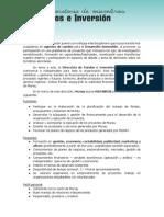 Convocatoria de miembros - Dirección de Fondos e Inversión