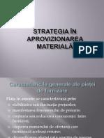 Strategia de Aprovizionare Materiala