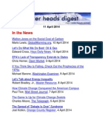 Cooler Heads Digest 11 April 2014