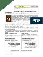 P2016 Appel à Projets 2A - Optimisation Réacteur de Synthèse D- Analogue Titan - A. Buch