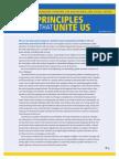 Aft Principles that Unite Us 2013