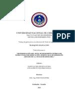 Determinacion Del Nivel de Desempeño Teorico de Estructuras de Edificacion Aporticadas de Hormigon Armado de La Ciudad de Riobamba