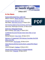 Cooler Heads Digest 28 March 2014