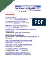 Cooler Heads Digest 21 March 2014