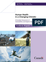 Human Health in a Changing Climate