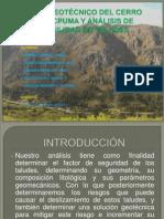 Mapeo Geotécnico Del Cerro Callacpuma y Análisis De