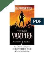 Christopher Pike- El Último Vampiro.