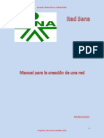 Manual de Procedimiento de Una Red