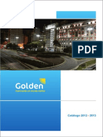 Golden-leds Catalogo 2012 2013