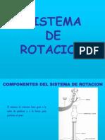 11.-Sistema de Rotacion