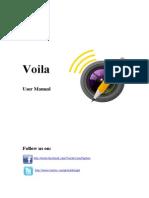 Voila User Manual