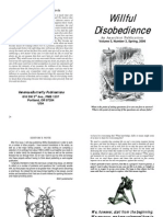Willful Disobedience - Volume 5 - Number 3