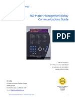 GE 469 Motor Management Relay Communications Guide