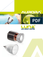 Aurora Low Energy Lighting - LUNA Range