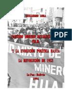 2-El POR. y La Ecolución Política Hasta La Rev. de 1952