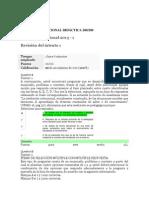 Evaluación Nacional Didáctica 200