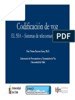 CODIFICACION DE VOZ