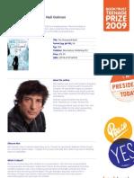 Teenage Prize Reading Guide - Neil Gaiman