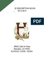 course des  book