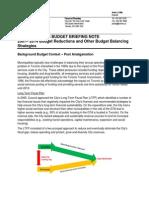 BN 2007 - 2014 Operating Budget Savings Final