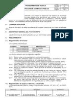 PT-09-011 Inspecci_363n de Alumbrado P_372blico en Horario Nocturn