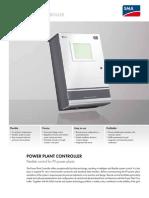 Power Plant Controler - Flexible Control for Pv Power Plants (Pwrplntcntrlr-dus122410w)