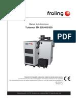 TM 320 - 400 - 500 Manual de Funcionamiento