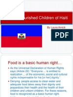 the malnourished children of haiti