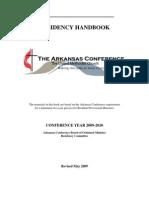 2009 Residency RIM Handbook