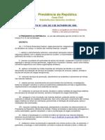Decreto Nº 1.655, De 3 de Outubro de 1995