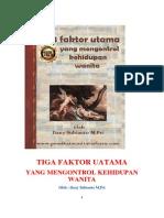 TIGA FAKTOR UTAMA YANG MENGONTROL KEHIDUPAN WANITA.pdf