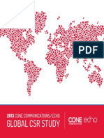 2013 Cone Communicationsecho Global Csr Study