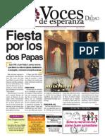 Voces de Esperanza 27 de abril de 2014