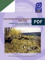 CCEEU - Ejecuciones Extrajudiciales en Colombia 2002-2010