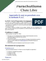 Chute Libre _ Apprendre
