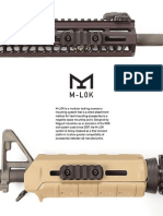 Magpul Industries M-lok Information Booklet