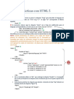 Buenas Prácticas Con HTML 5
